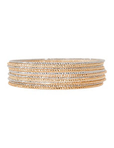 12 row bangle bracelet set by Lane Bryant