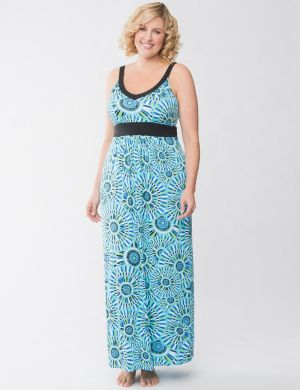 Tru to You mosaic sleep maxi