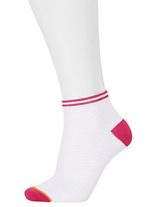 Mesh top sport socks 3 pack by Cacique