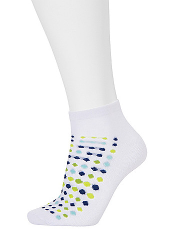 Dots & stripes sport socks 3 pack by Cacique
