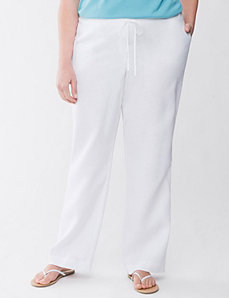 Lane Collection linen pant by Lane Bryant