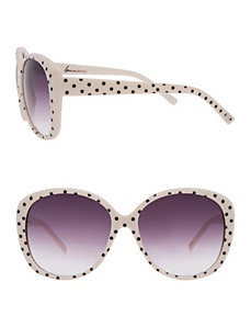 Polka dot sunglasses by Lane Bryant