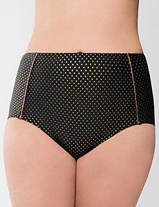 Shimmer dot swim bottom