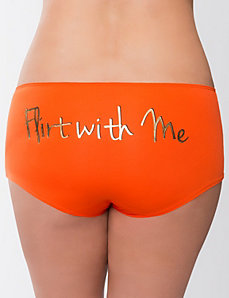 Flirt with Me boyshort panty
