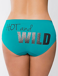 Hot and Wild seamless hipster panty