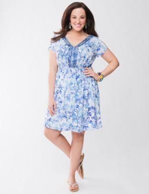 Lane Collection embellished dress