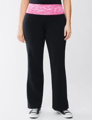 Colored waist yoga pant