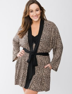 Tru to You Animal print robe