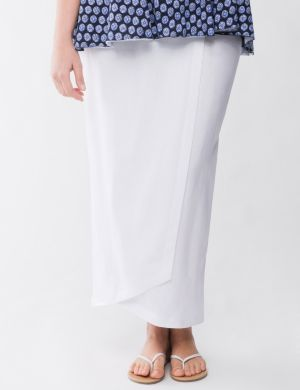 Lane Collection linen skirt