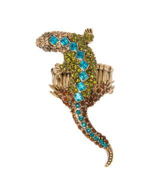 Rhinestone lizard ring by Lane Bryant