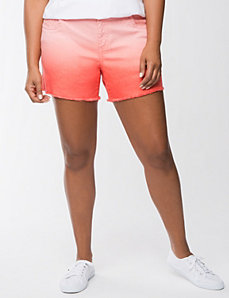 Ombre jean short by Seven7
