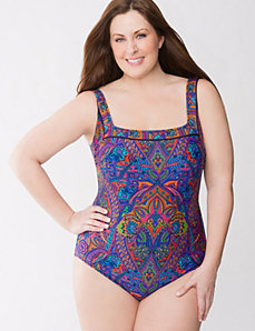 Folklore paisley swimsuit by Gottex