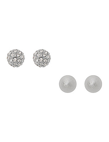 Fireball & dusted earring duo by Lane Bryant