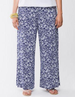 Soft floral pant