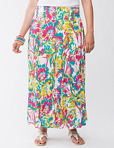 Embellished floral skirt by Lane Bryant