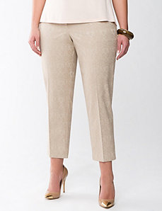 Lane Collection jacquard trouser by Lane Bryant