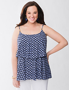 Lane Collection tiered tank by Lane Bryant