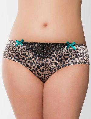 Animal print cheeky panty