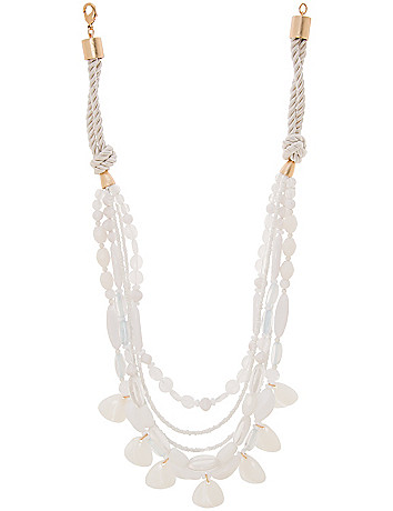 Lane Collection rope illusion necklace