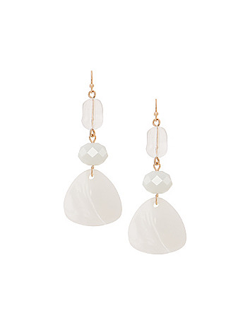 Lane Collection stone drop earrings