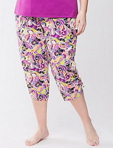 Floral cropped sleep pant by Cacique