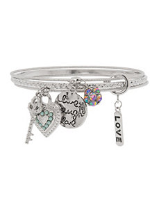 Love charm bracelet by Lane Bryant