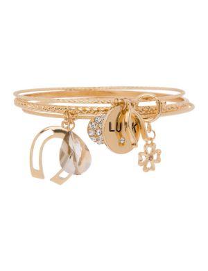 Lucky charm bracelet by Lane Bryant