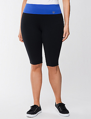 Colorblock knee legging