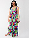 Tru to You tropical burst maxi lounger