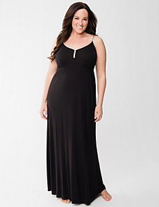 Ribbed sleep maxi lounger