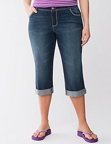 Genius Fit embellished capri by LANE BRYANT