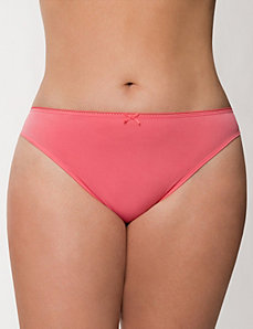 Lace back thong panty by LANE BRYANT