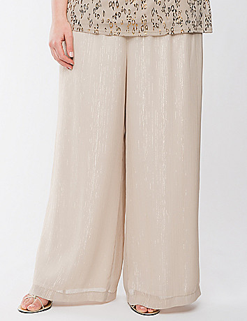 Lane Collection golden layered pant