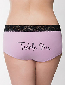 Tickle Me cotton boyshort panty