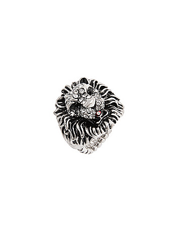 Lion head ring by Lane Bryant
