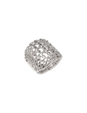 Chain link cocktail ring by Lane Bryant