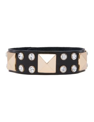 Embellished strap bracelet by Lane Bryant