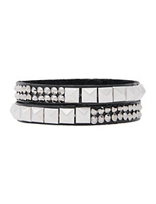 Studded strap bracelet by Lane Bryant