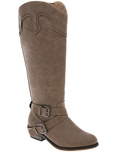 Western harness boot by LANE BRYANT