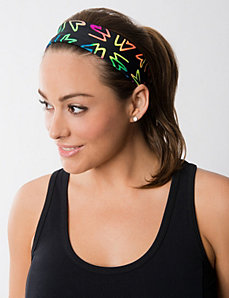 LB neon active headband by LANE BRYANT