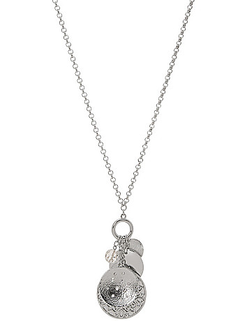 Convertible charm necklace by Lane Bryant