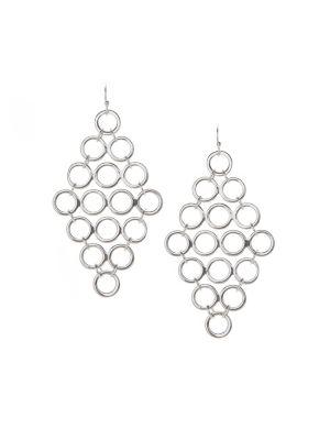 Mini disc waterfall earrings by Lane Bryant