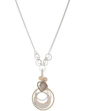 Long charm necklace by Lane Bryant