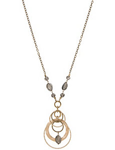 Charm cluster necklace by Lane Bryant