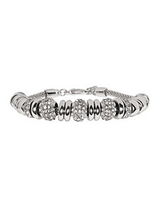 Metal bead bracelet by Lane Bryant
