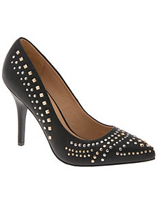 Studded pump by LANE BRYANT