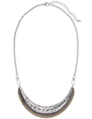 Hammered collar necklace by Lane Bryant