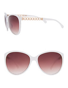 Chain detailed sunglasses