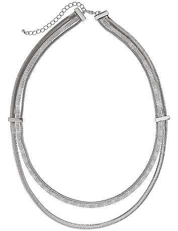 Triple chain necklace by Lane Bryant