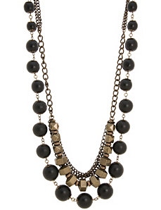 Lane Collection layered bead necklace